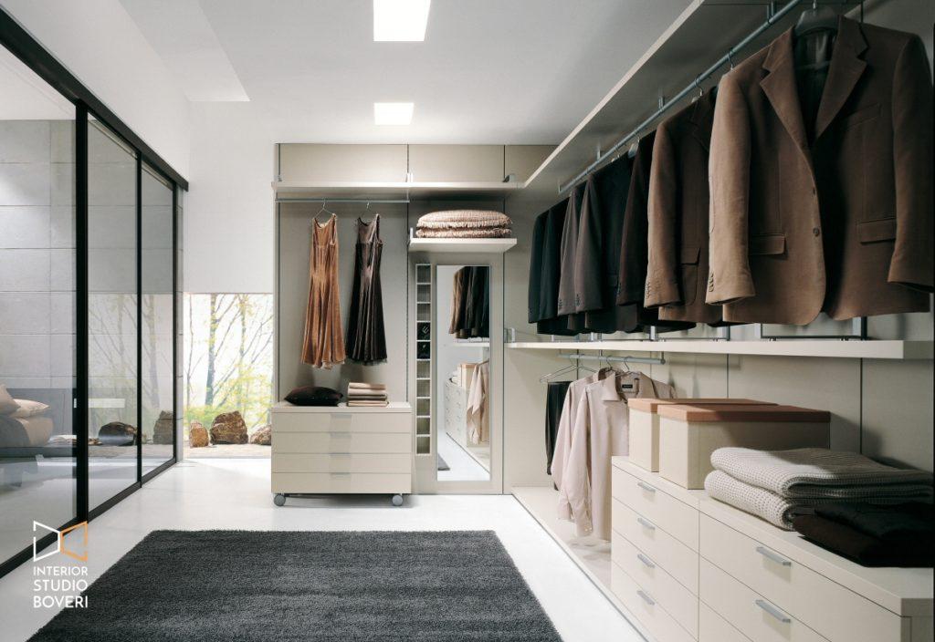 Arredamento camera 03 libera cabina armadio - Interior studio Boveri