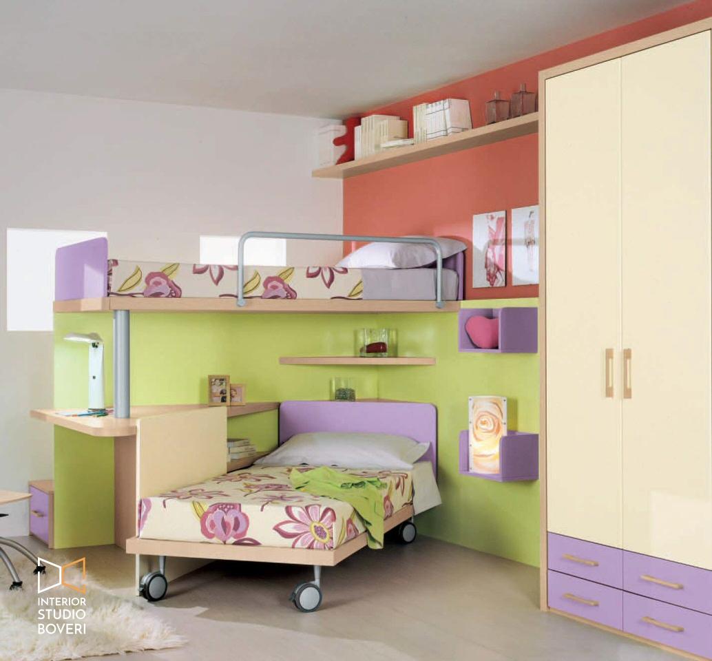 Arredamento cameretta 03 cameretta - Interior studio Boveri
