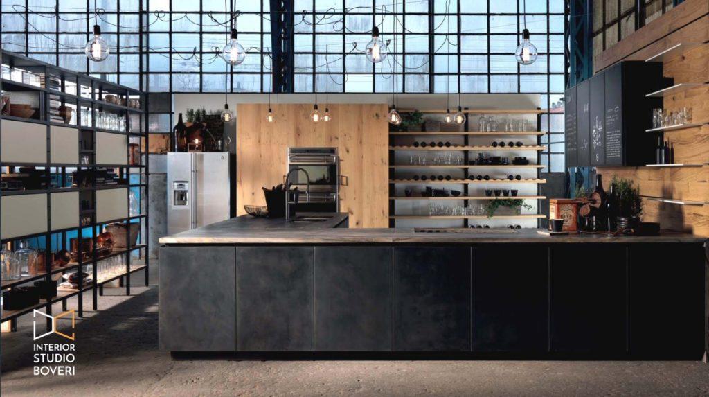 Arredare stile- industriale 01 factory - Interior studio Boveri