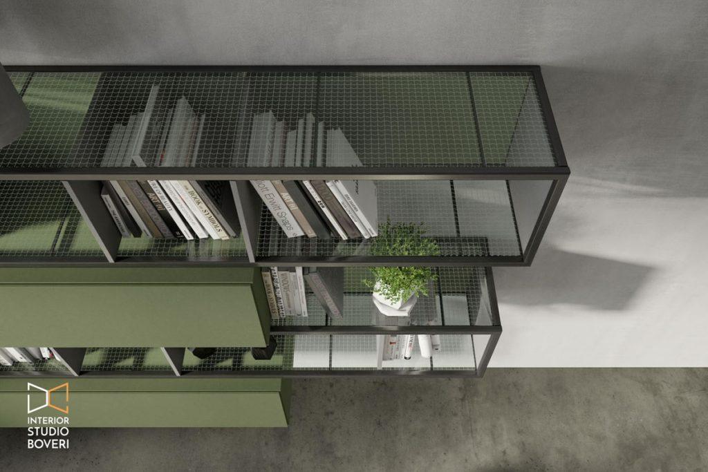 Arredare stile industriale 01 rebel quercia 75G composizione cenere bosco - Interior studio Boveri