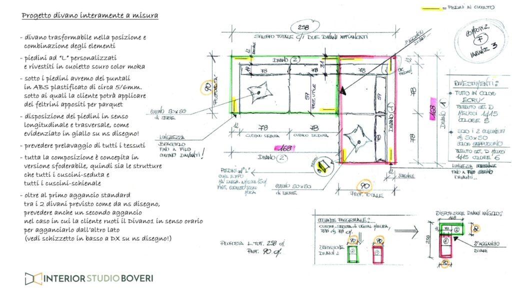 Complementi 02 divano composizione f variante 3 - Interior studio Boveri