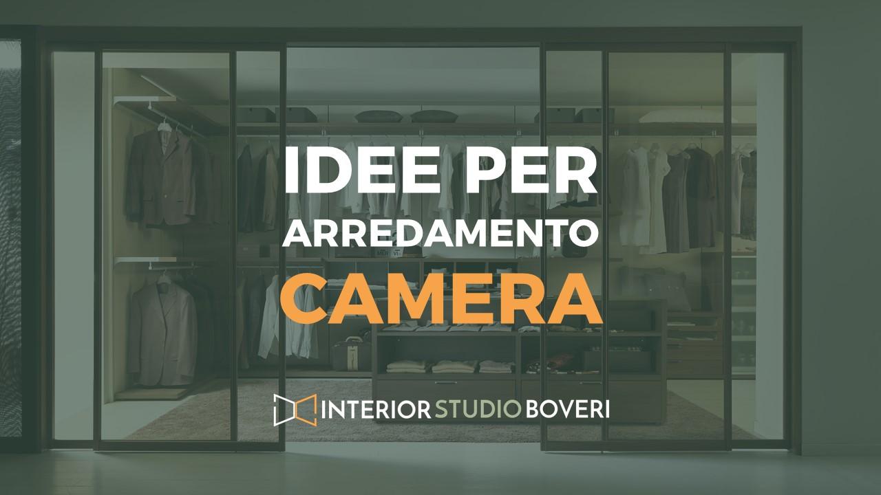 Idee arredamento camera - Interior studio Boveri