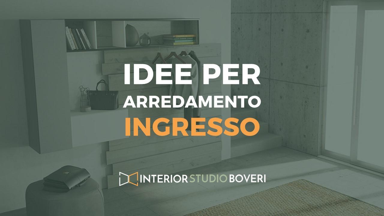 Idee arredamento ingresso - Interior studio Boveri