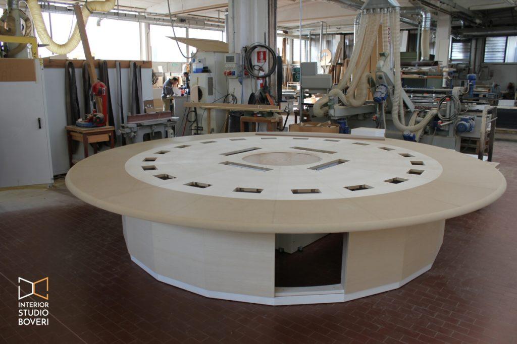 Mobili su misura 01 tavolo riunioni su misura - Interior studio Boveri