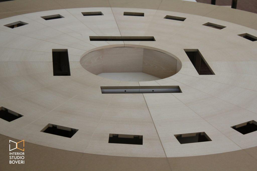 Mobili su misura 02 tavolo riunioni su misura - Interior studio Boveri