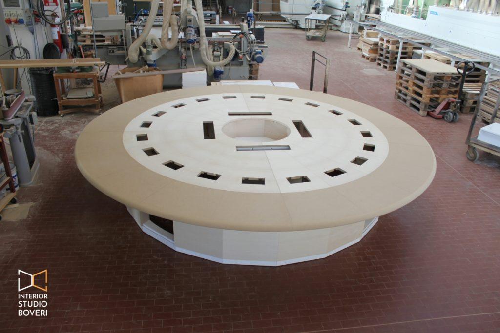 Mobili su misura 03 tavolo riunioni su misura - Interior studio Boveri