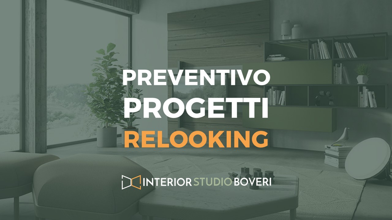 Preventivo progetti relooking - Interior studio Boveri
