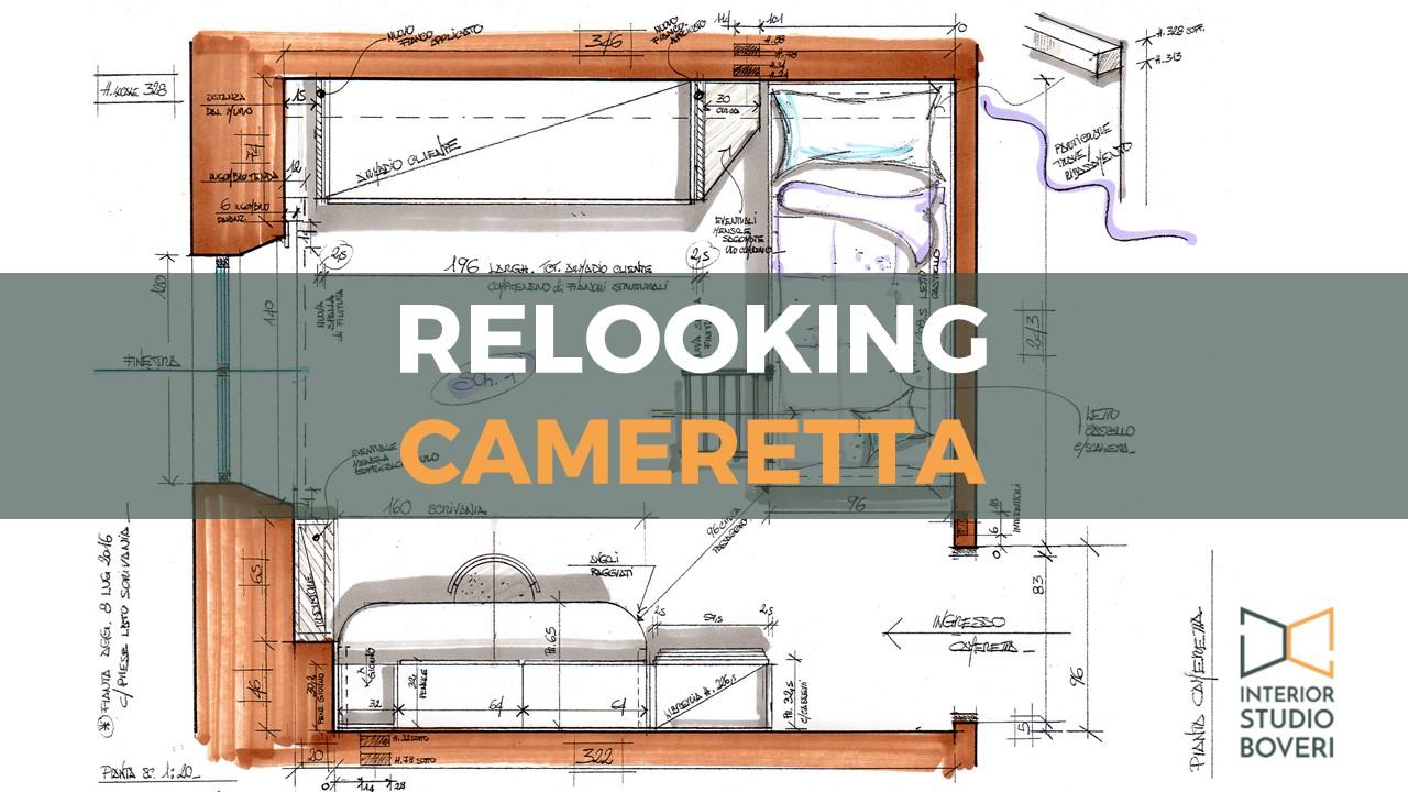 Relooking cameretta - Interior studio Boveri