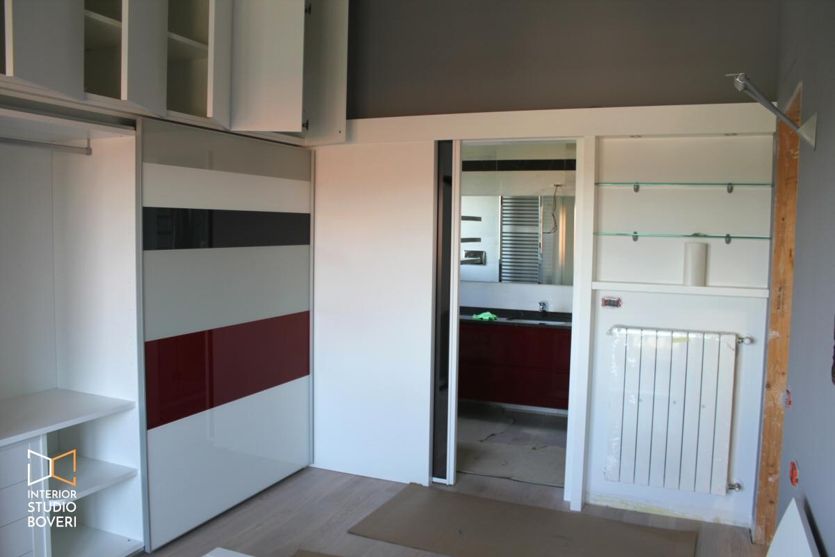 Progettare armadio su misura in una mansarda moderna a monza for Mobili per mansarde ikea
