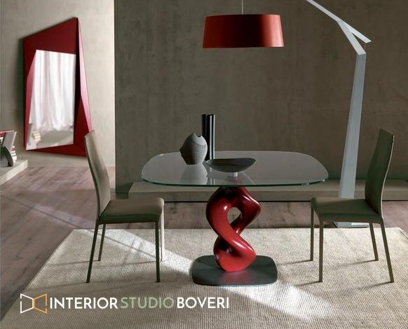 Urban-Chic con complementi di colore rosso