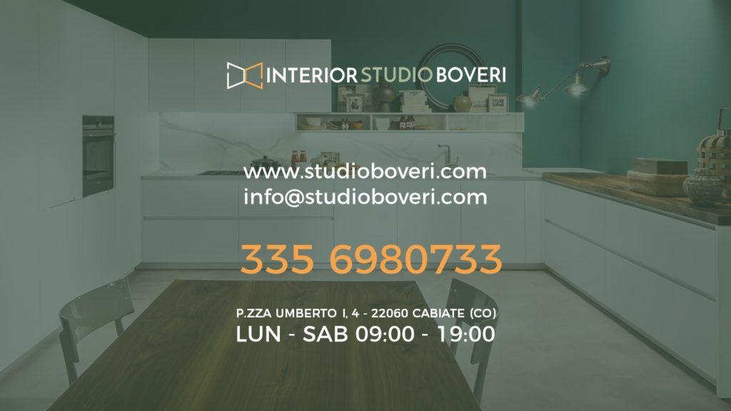 Contatti - Interior studio Boveri