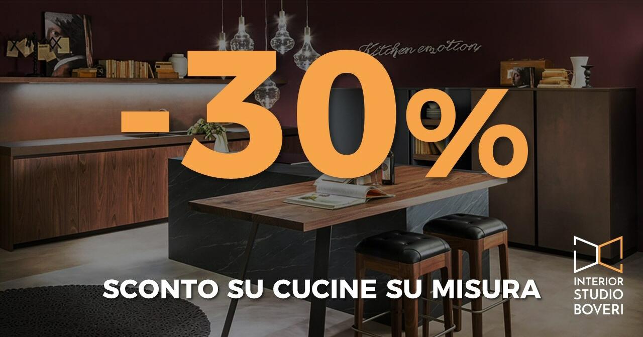 Preventivo cucina: sconto -30% fino al 30 nov 2017