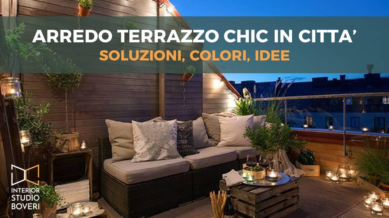 Arredo terrazzo chic in città: soluzioni, colori, idee