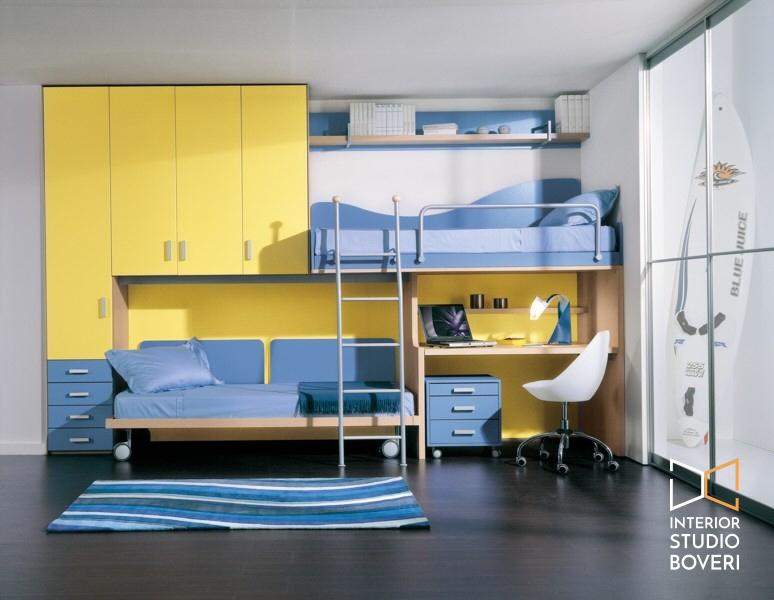 Arredamento camerette bambini idee per la tua casa for Registrare i piani di casa con soppalco