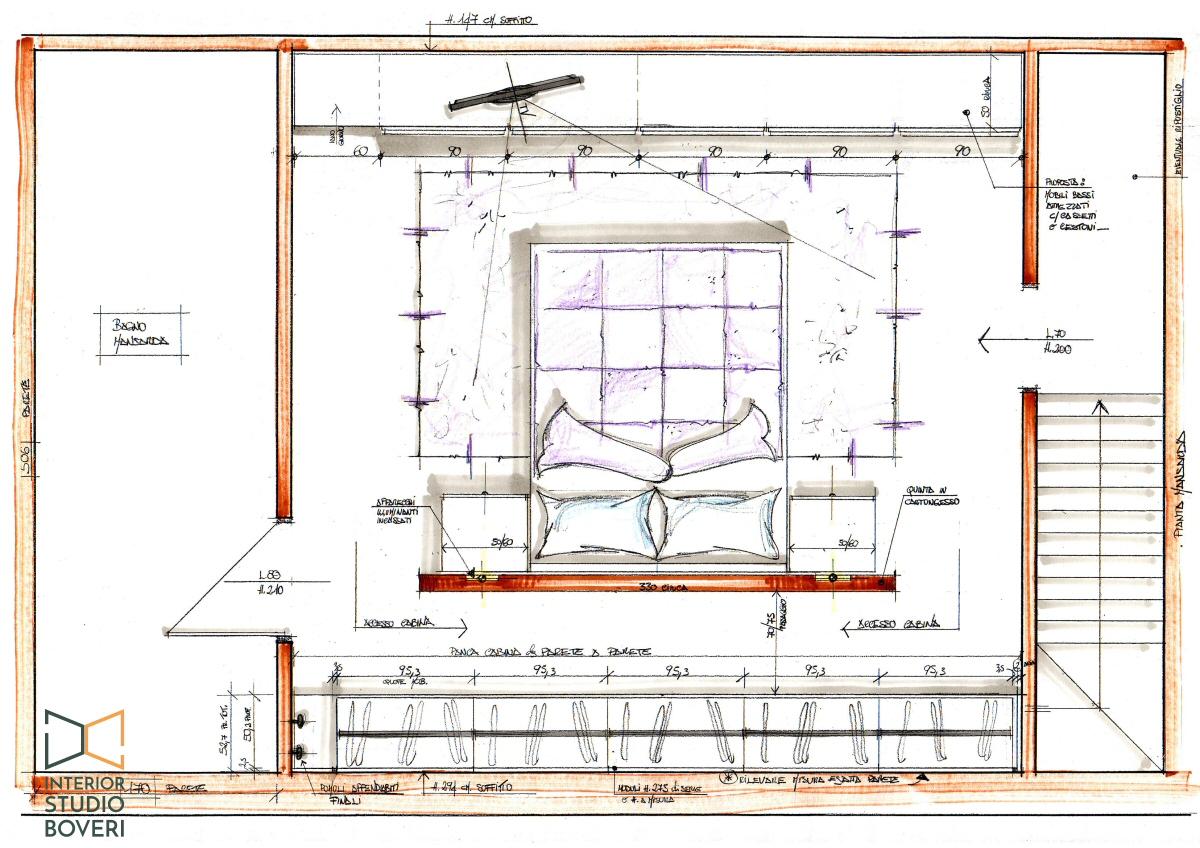 Preventivo progetto arredamento su misura case appartamenti for Esempi di arredamento