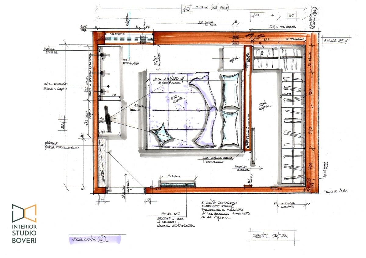 Preventivo progetto arredamento su misura case, appartamenti