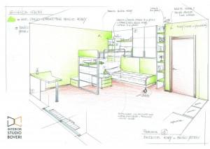 preventivo-cameretta-05-proposta-colore-kiwi-bianco-matrix-interior-studio-boveri