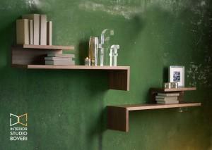 arredamento-ingresso-03-linfa-acrobat-mensola-in-legno-laccata-interior-studio-boveri