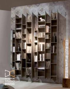 arredamento-ingresso-08-ozzio-pozzoli-libreria-byblos-laccato-tortora-opaco-interior-studio-boveri