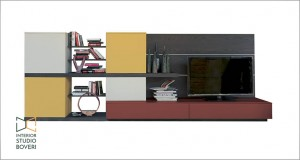 arredamento-soggiorno-03-side-3d-olmo-ruggine-laccato-giglio-laccato-mattone-laccato-mango-interior-studio-boveri