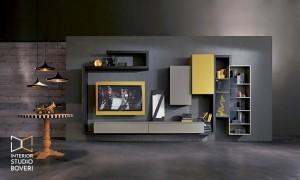 arredamento-soggiorno-06-side-olmo-lava-laccato-senape-laccato-argilla-interior-studio-boveri