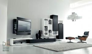 arredamento-soggiorno-16-side-laccato-nero-laccatobianco-portatv-rack-orientabile-interior-studio-boveri
