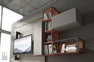 arredamento-soggiorno-18-rebel-quercia-50C-composizione-cenere-composizione-rosso-interior-studio-boveri